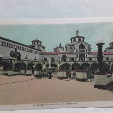 Postales: TARJETA POSTAL-EXPOSICION INTERNACIONAL DE BARCELONA-1929-CON PROPAGANDA EN REVERSO. Lote 58523902