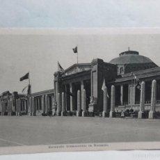 Postales: TARJETA POSTAL-EXPOSICION INTERNACIONAL DE BARCELONA-1929-CON PROPAGANDA EN REVERSO. Lote 58523928