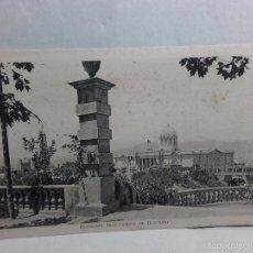 Postales: TARJETA POSTAL-EXPOSICION INTERNACIONAL DE BARCELONA-1929-CON PROPAGANDA EN REVERSO. Lote 58524095