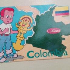 Postales: COLOMBIA CUETARA 1990 TVE. Lote 58752182