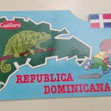 Postales: REPÚBLICA DOMINICANA CUETARA 1990. Lote 58752226