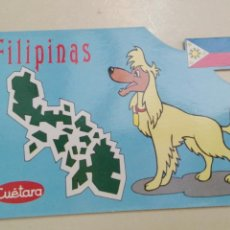 Postales: FILIPINAS CUETARA 1990. Lote 134031911