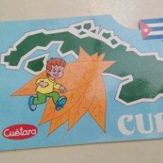 Postales: CUBA CUETARA 1990. Lote 58752485