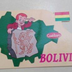 Postales: BOLIVIA CUETARA 1990. Lote 58753081