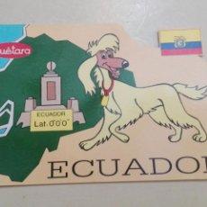 Postales: ECUADOR CUETARA 1990. Lote 58753158