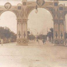Postales: ARCO CONMEMORATIVO DE LA VISITA DE ALFONSO XIII. Lote 60835911