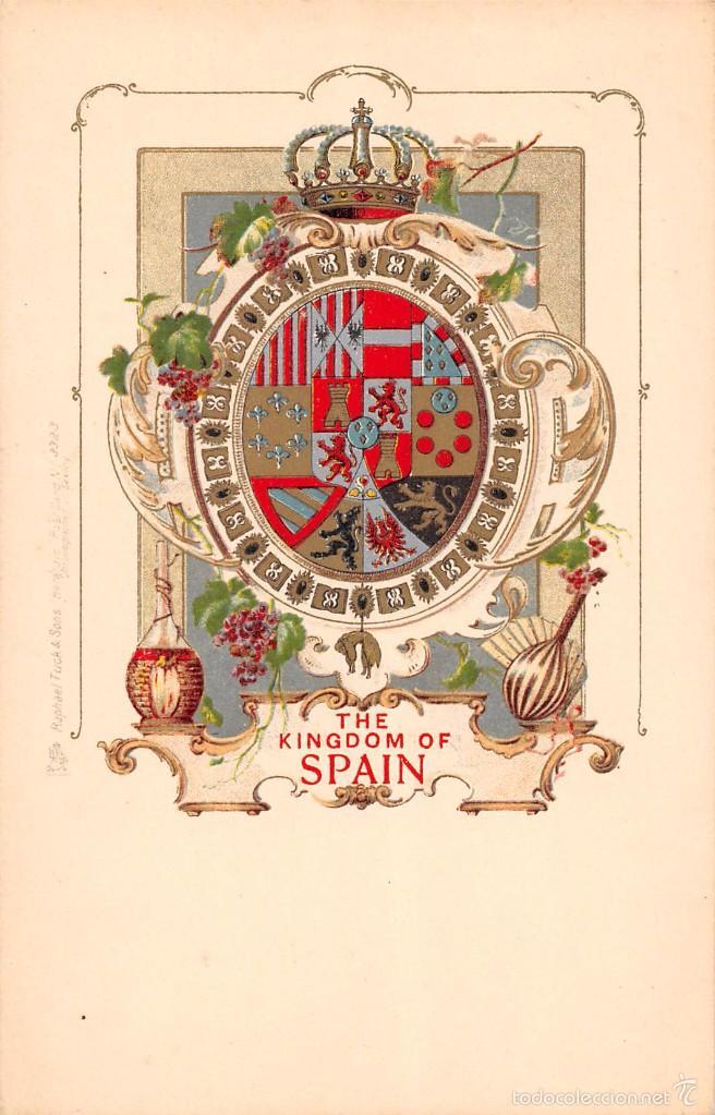 THE KINGDOM OF SPAIN (Postales - Postales Temáticas - Conmemorativas)
