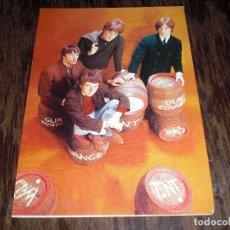 Postales: LOS KINKS (AUTORIZADO) POSTAL N 406 COLOR COLECCION OSCAR OSCARCOLOR SOBRE OLD LOS KINKS AUTORIZADO. Lote 64410591