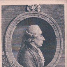 Postales: POSTAL SR. BAILLY ALCALDE DE PARÍS 15 JULIO 1789. FRAGMENTO DEL DISCURSO DEL REY. Lote 65040207