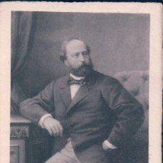 Postales: POSTAL ENRIQUE V DE FRANCIA, CONDE DE CHAMBORD. 1820-1883. Lote 65057799