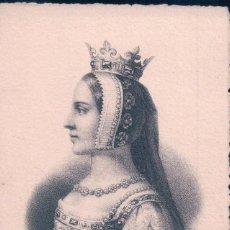Postales: POSTAL VIOLANTE DE BAR. REINA CONSORTE DE LA CORONA DE ARAGON E INFANTA DE BAR. 1365-1431. Lote 65060407