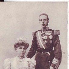 Postales: SS. MM. D. ALFONSO XIII Y Dª VICTORIA EUGENIA REYES DE ESPAÑA.ESCRITA Y CIRCULADA. Lote 75626103