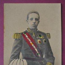 Postales: POSTAL EN RELIVE,BRILLANTINA Y PINTADA A MANO.1907. Lote 81251844