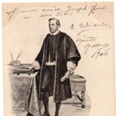 Postales: PS7524 POSTAL ILUSTRADA DE PAU CLARÍS. GARCÍA. CIRCULADA. 1906. Lote 82298044