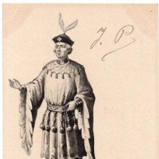 Postales: PS7525 POSTAL ILUSTRADA DE ANTONI TALLANDER. GARCÍA. CIRCULADA. 1906. Lote 82298216