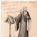 Postales: PS7526 POSTAL ILUSTRADA DE MOSSEN JOAN FIVALLER. GARCÍA. CIRCULADA. 1906. Lote 82298420