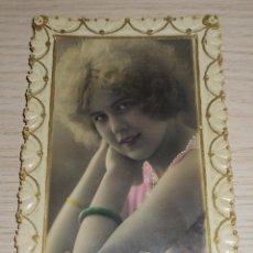 Postales: FOTO POSTAL TROQUELADA CONMEMORATIVA CON ORACIÓN A MI MADRE AÑOS 50/60 ESCRITA EN REVERSO. Lote 86710144