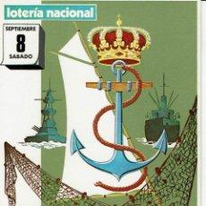 Postales: POSTAL LOTERIA NACIONAL SORTEO EXTRAORDINARIO DIA DEL MAR - TARRAGONA 1979. Lote 87242040