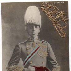 Postales: PS7686 S. M. ALFONSO XIII. POSTAL FOTOGRÁFICA. CIRCULADA. 1907. Lote 89168232