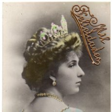 Postales: PS7687 S. M. VICTORIA EUGENIA. POSTAL FOTOGRÁFICA. CIRCULADA. 1907. Lote 89168596