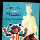 Postales: POSTAL * FESTES DE LA MERCÉ * BARCELONA 1956. Lote 160335572