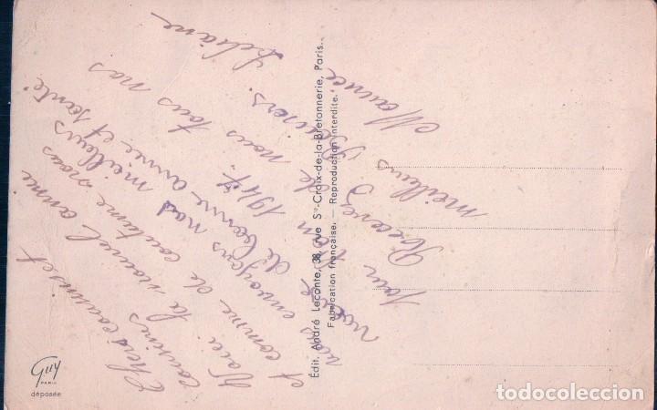 Postales: POSTAL DIBUJO DE ROSAS - HERRADURA DE LA SUERTE . FELIZ AÑO NUEVO - ESCRITA - Foto 2 - 95396799