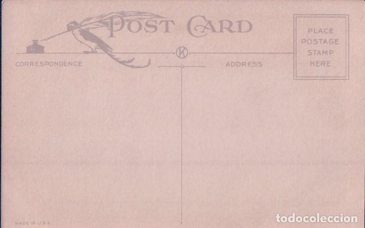 Postales: POSTAL CONGRATULATIONS TO YOUR BIRTHDAY 701 - MADE IN USA - FELIZ CUMPLEAÑOS - FLORES JARRON - Foto 2 - 96604299