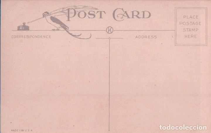 Postales: POSTAL A HAPPY BIRTHDAY 705 - MADE IN USA - FELIZ CUMPLEAÑOS - CISNE - LAGO - PAISAJE - Foto 2 - 96604871