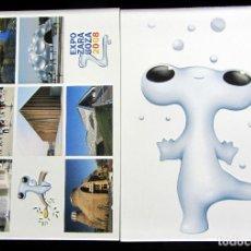 Postales: POSTAL POST CARD CARTE POSTALE EXPO ZARAGOZA 2008 FLUVI 2 POSTALES. Lote 103627535