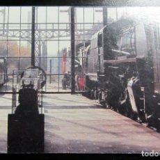 Postales: POSTAL POST CARD CARTE POSTALE MUSEO DEL FERROCARRIL MADRID 2009 25 ANIVERSARIO. Lote 103632703