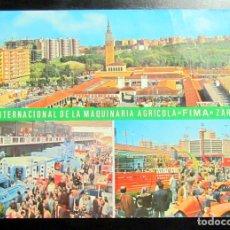 Postales: POSTAL POST CARD CARTE POSTALE FIMA FERIA MAQUINARIA AGRICOLA ZARAGOZA EDITORIAL ARRIBAS. Lote 103979447