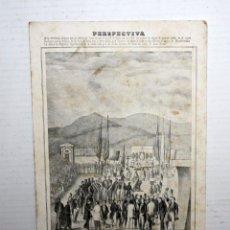 Postales: ANTIGUA POSTAL DE CANET DE MAR. BARCELONA. ERMITA DE LA MISERICORDIA. SIN CIRCULAR. Lote 107199115