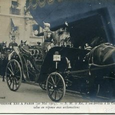 Postales: ALFONSO XIII EN PARIS-1905-FOTOGRÁFICA. Lote 109061915