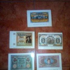 Postales: LOTE POSTALES BILLETES DEL MUNDO . Lote 110310219