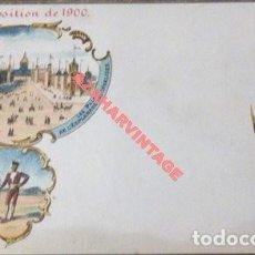 Postales: EXPOSITION DE 1900 - ESPAGNE - EXPOSICION DE 1900 - ESPAÑA, LES PALAIS DE L'ESPLANADE. Lote 112911691