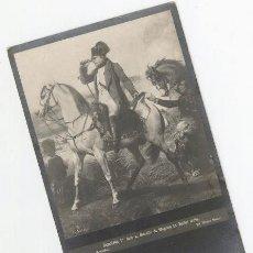 Postales: NAPOLEON 1ER. DANS LA BATAILLE DE WAGRAM (6-7-1809). Lote 25036987