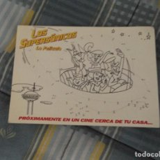 Postales: POSTAL ANUNCIO PELICULA LOS SUPERSONICOS. Lote 115020443