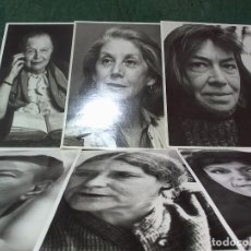 Postales: LOTE 6 POSTALES RETRATOS MUJERES ILUSTRES. Lote 115102307