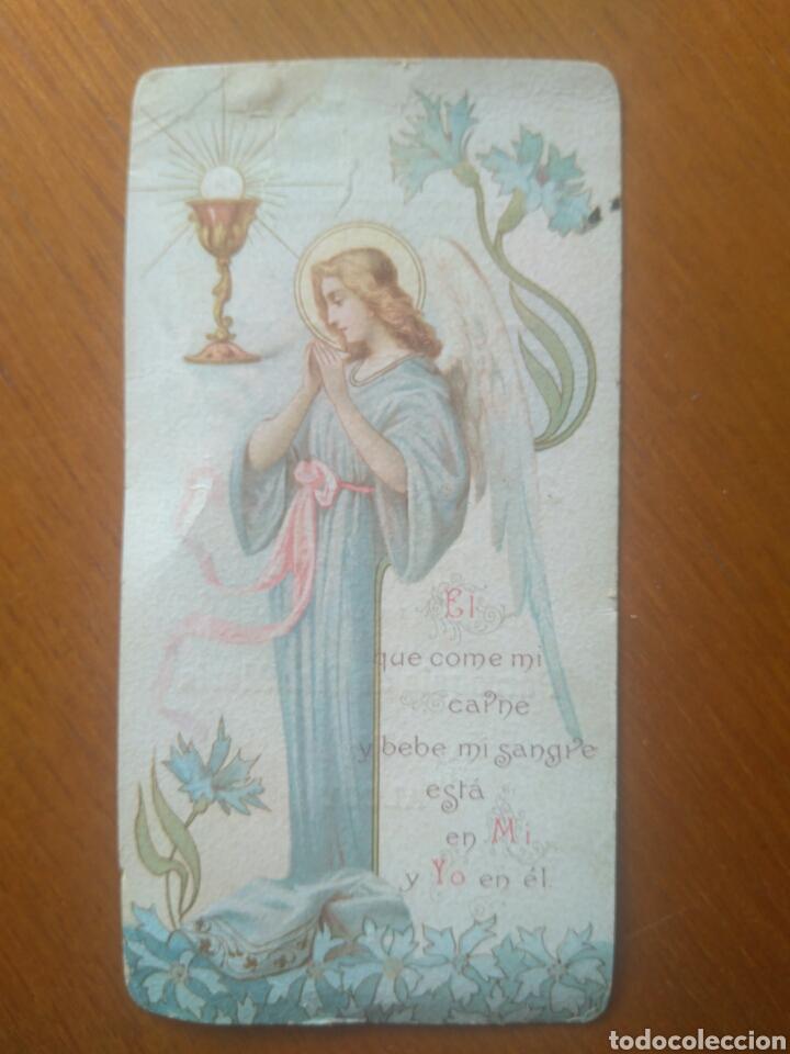 RECUERDO PRIMERA MISA ROGELIO PAYA CANDELA, PARROQUIA SANTA MARÍA ALCOY AÑO 1905 (Postales - Postales Temáticas - Conmemorativas)