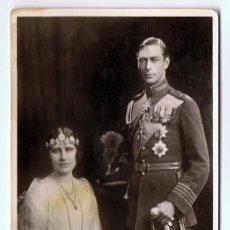 Postales: POSTAL REY GEORGE VI Y REINA ELIZABETH . Lote 117501755