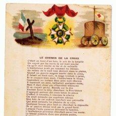Postales: POSTAL LE CHEMIN DE LA CROIX . Lote 117615847