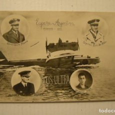 Postais: VIAJE DEL PLUS ULTRA FEBRERO DE 1926 ESPAÑA - ARGENTINA POSTAL FOTOGRAFICA CIRCULADA. Lote 121545971