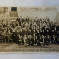 Postales: FIESTA DE ANTIGUOS ALUMNOS DEL COLEGIO DE S.LUIS DE PRAVIA,1926. Lote 128503443