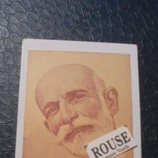 Postales: ANTIGUA POSTAL AÑOS 20 - FRANCISCO GINER DE LOS RIOS - COLC. GENERACION CONSCIENTE 14X9 CM.. Lote 128641623