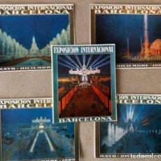 Postales - FUENTES LUMINOSAS, BARCELONA (1929). LOTE DE 5 POSTALES - PRODUCCIONES DOS I UNA. TARZAN . SIN CIRC - 128980455