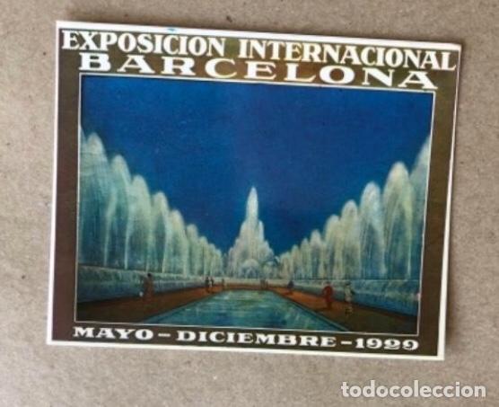 Postales: FUENTES LUMINOSAS, BARCELONA (1929). LOTE DE 5 POSTALES - PRODUCCIONES DOS I UNA. TARZAN . SIN CIRC - Foto 4 - 128980455