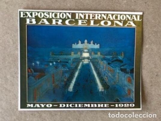 Postales: FUENTES LUMINOSAS, BARCELONA (1929). LOTE DE 5 POSTALES - PRODUCCIONES DOS I UNA. TARZAN . SIN CIRC - Foto 5 - 128980455