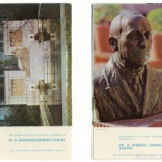 Postales: MONUMENTOS MEDICOS ESPAÑOLES.. Lote 133450346