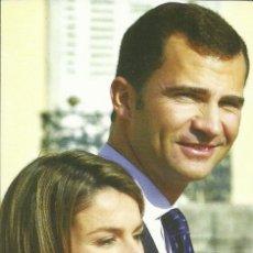 Postales: 2 TARJETAS POSTALES ESPAÑA CONMEMORATIVAS DE LA BODA DE FELIPE Y LETIZIA. Lote 139591642