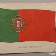 Postales: POSTAL BANDERA PORTUGUESA DE 1911. Lote 140543534